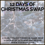 12 Days of Christmas Swap