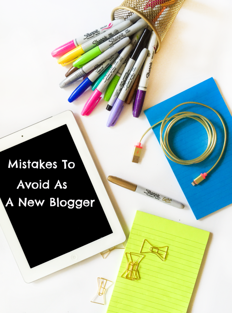 Mistakes To Avoid As A New Blogger