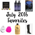 July 2016 Favorites