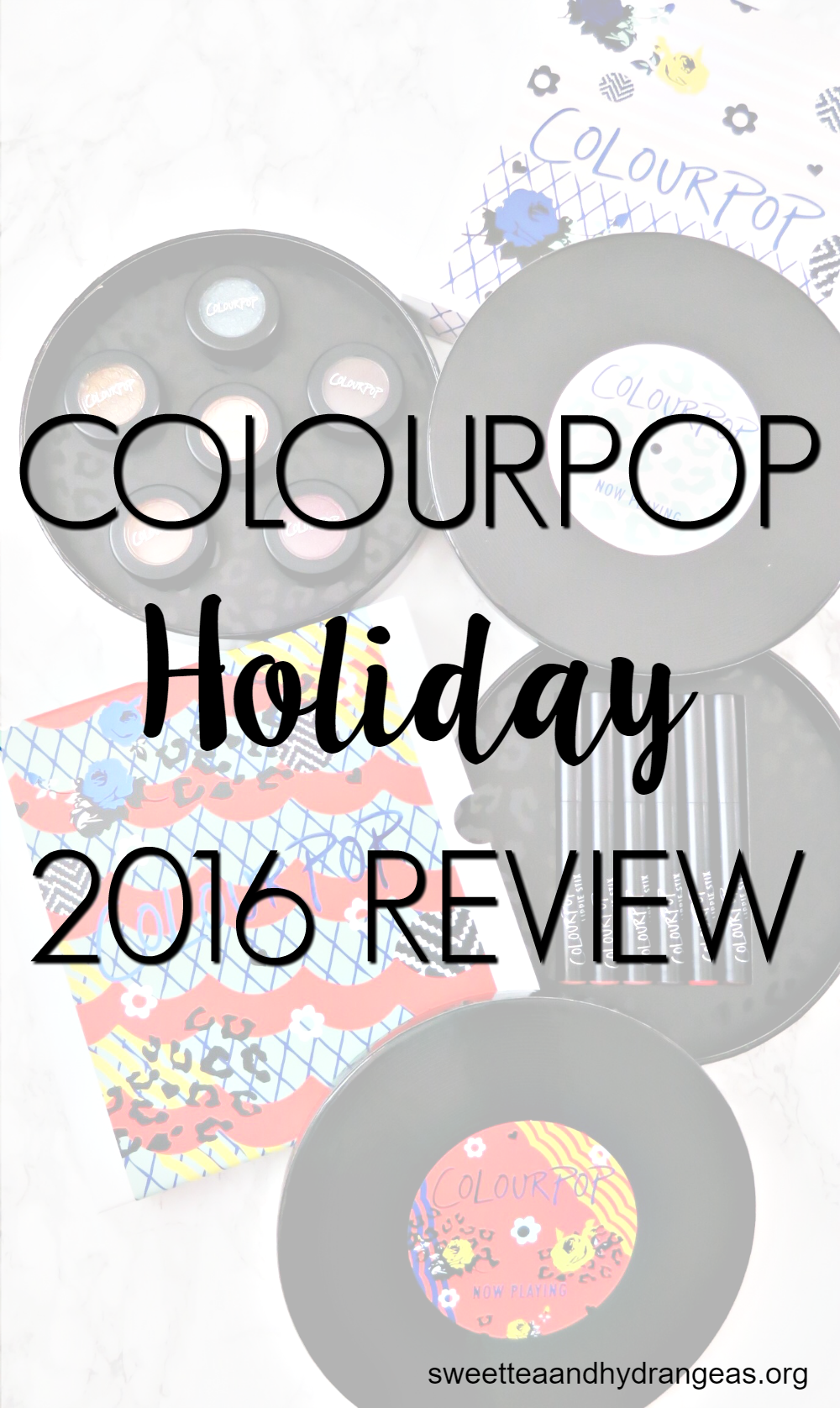 ColourPop Holiday 2016 Review