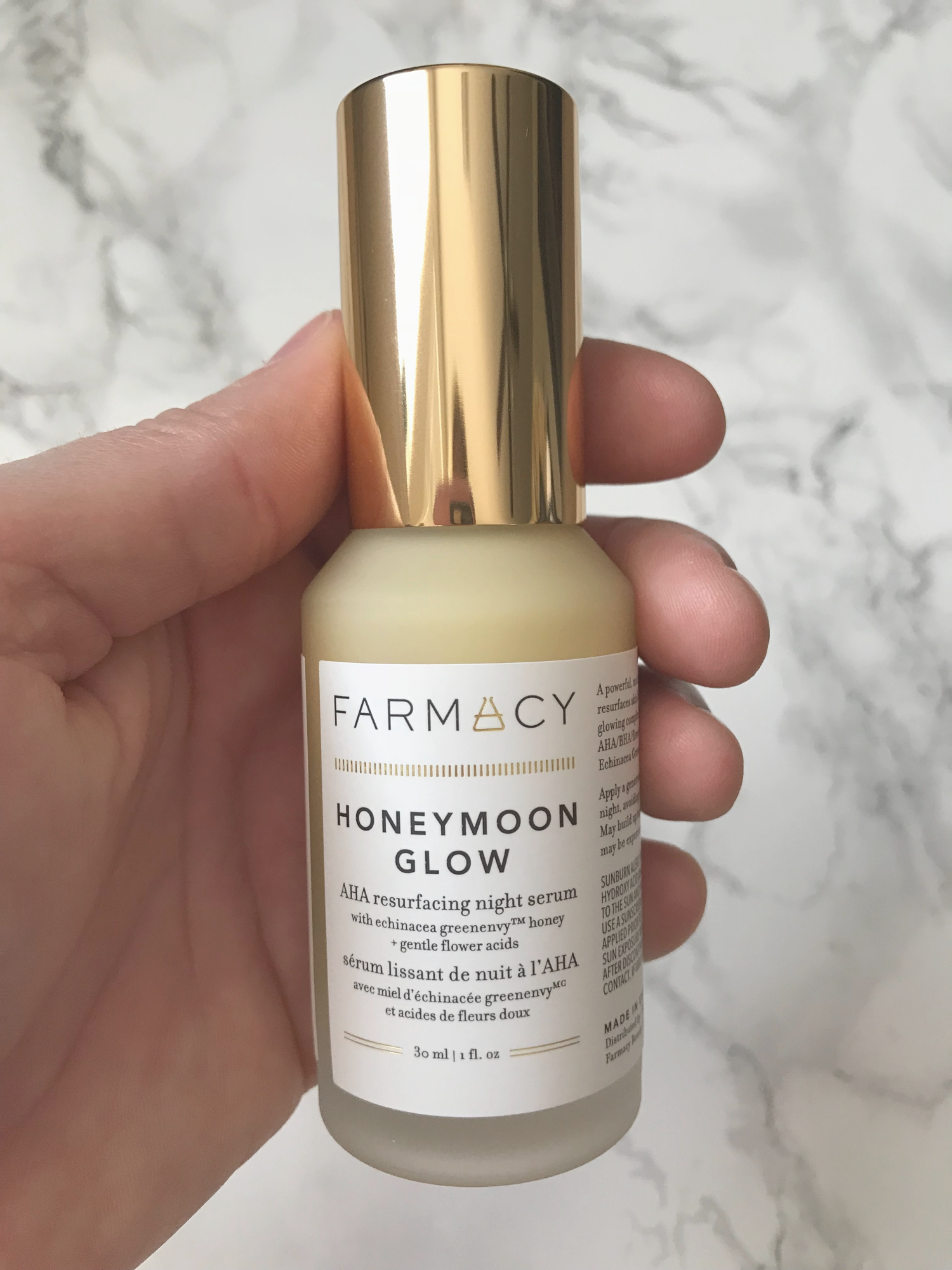 Farmacy Honeymoon Glow AHA Resurfacing Night Serum