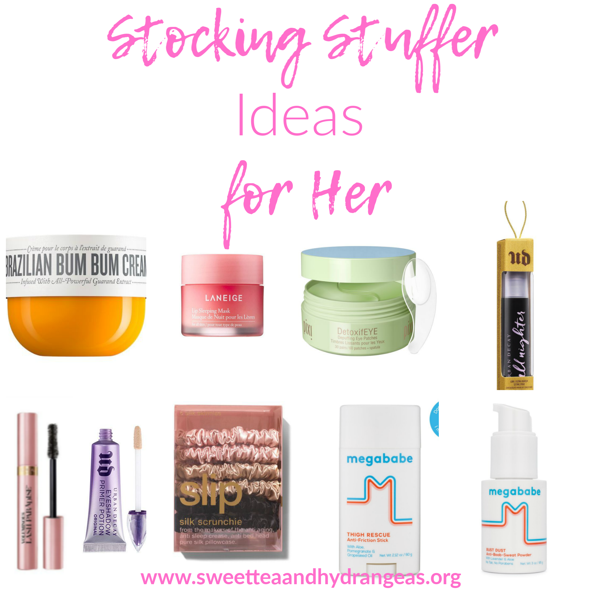 Sweet Tea & Hydrangeas Stocking Stuffer Ideas for Her